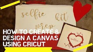 How I print & press a design I made for canvas tote using a cricut explorer 2?