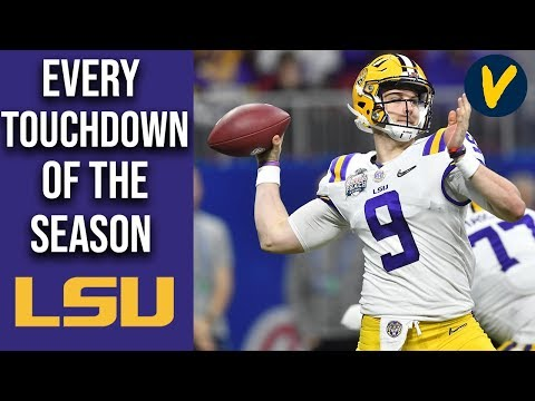 Every Touchdown On LSU's March To The National Championship