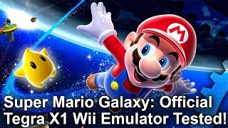 Super Mario Galaxy at 1080p! Official Nintendo Wii Emulator Analysis - Tegra X1/Shield TV Gameplay
