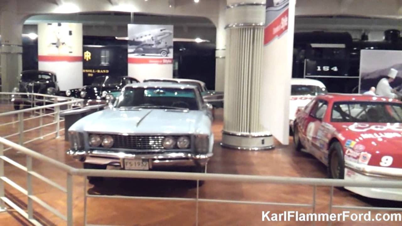"""Karl Flammer Ford >> The Henry Ford Museum: """"Driving America"""" after-hours tour - YouTube"""