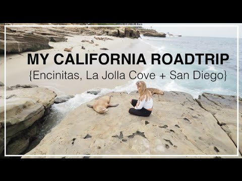 {Part 3} My California Roadtrip - Encinitas, La Jolla Cove + San Diego