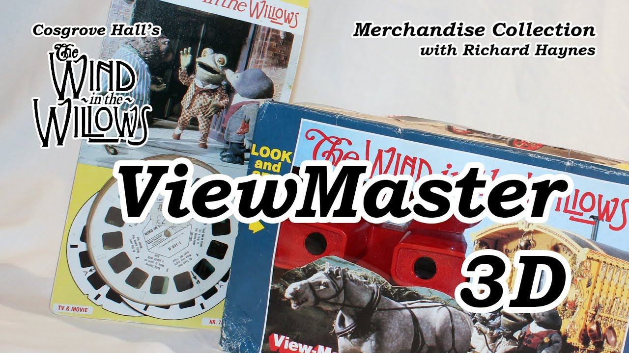 ViewMaster 3D (Merchandise of Cosgrove Hall's 'The Wind in the Willows')