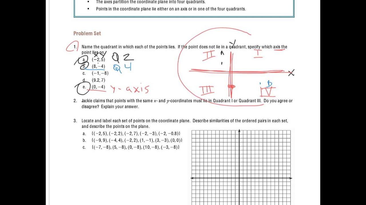 Grade 6 Module 3 Lesson 15 Problem Set