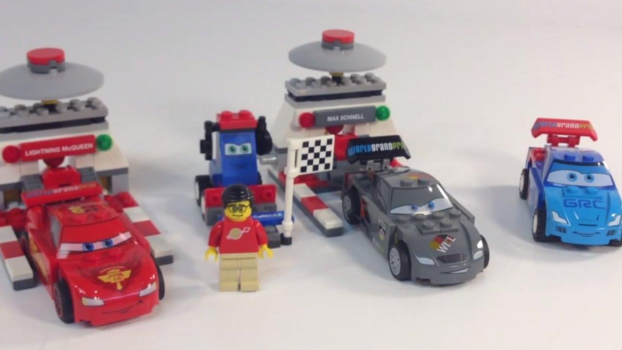 LEGO Disney Pixar Cars 9485 Ultimate Race Set World Grand Prix from 2012