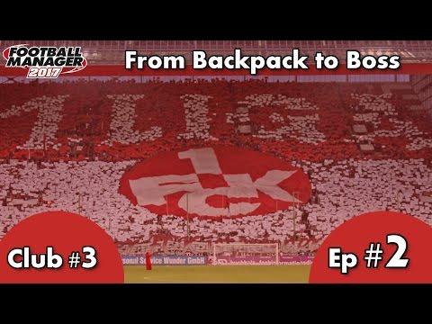 FM17 - Dortmund & Borussia Mönchengladbach - FC Kaiserslautern - C3 EP2 - Football Manager 2017