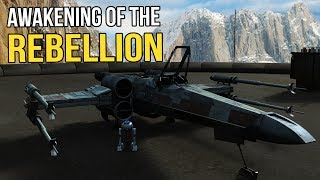Brand New X-Wing Star Fighters - Star Wars - Awakening of the Rebellion S2Ep 35