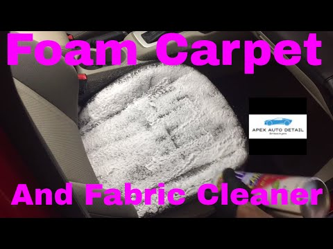 An Impressive Economical Foam Carpet And Fabric Cleaner And Spot Remover Spot And Stain