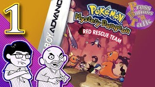 Pokemon Mystery Dungeon: Red Rescue Team, Ep. 1: Trapped in Pokemon World!!! - Press Buttons