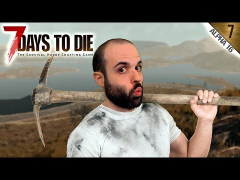 7 DAYS TO DIE A16 #7 | EMPIEZA LA EXCAVACIÓN | Gameplay Espa