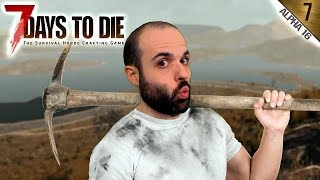 7 DAYS TO DIE A16 #7 | EMPIEZA LA EXCAVACIÓN | Gameplay Español thumbnail