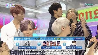 [ENG] 150524 SHINee backstage interview - Inkigayo