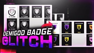 NBA2K19 NEW BADGE GLITCH MAX BADGES FAST!
