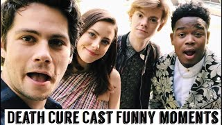 Maze Runner Cast: The Death Cure   Funny Moments