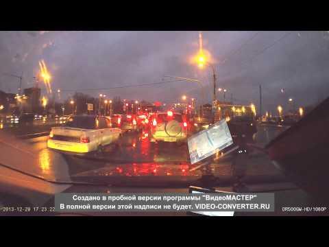ДТП перекрёсток Вербной и Репищева 29.12 2013