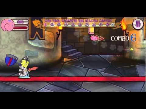 Игры Губка Боб побег из Замка (SpongeBob Castle Escape)