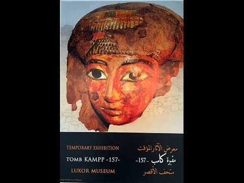 Userhat tomb Exhibition at Luxor Museum by Luxor Times