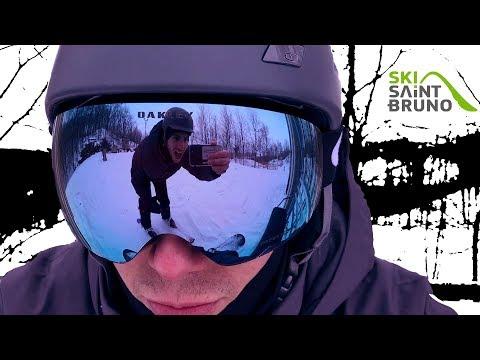 Ski Saint-Bruno | Mars 2018 | Snowblade Salomon | Iphone 7 | Snowboard | Vlog Montreal