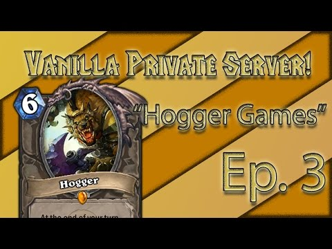 World of Warcraft Vanilla Server! Ep. 3 (The Hogger Games!)
