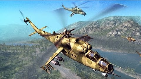 WORLD OF TANKS ON HELICOPTERS ! Heliborne ! Military Aviation !