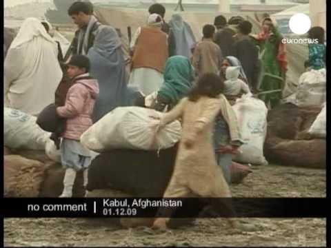 Winter Aid in Afghanistan