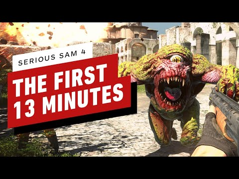 The First 13 Minutes of Serious Sam 4