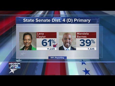 Sen. Lena Taylor wins primary over Rep. Mandela Barnes