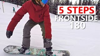5 Steps to Frontside 180