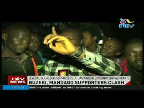 Several injured as supporters of Uasin Gishu governorship candidates clash