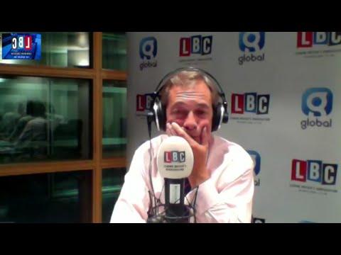 The Nigel Farage Show: Juncker & European Union Live from Strasbourg. LBC - 11th September 2017