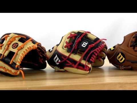 2017 Wilson A2000 Player Model Baseball Gloves
