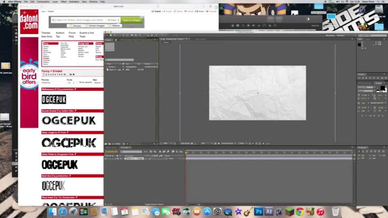 How to add custom fonts to Adobe After Effects