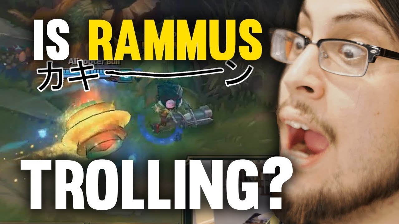 Imaqtpie - IS RAMMUS TROLLING? 23 CONFIRMED KILLS WHENEVER DRAVEN IS BANNED!