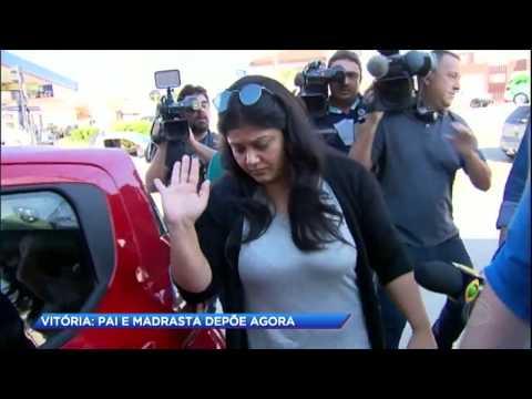 Familiares de Vitória fazem novos depoimentos para esclarecer o caso