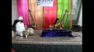 Live Concert Recording - Raag Simhendramayamam Alap and explanation - Adhithi Ravichandran