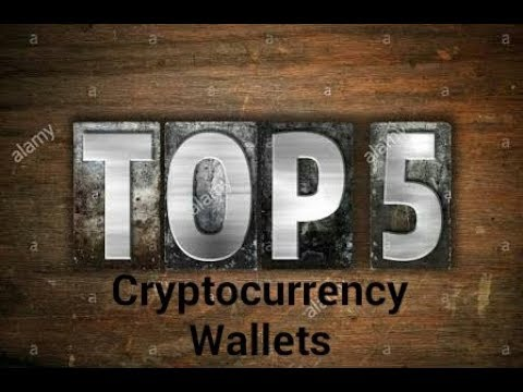 Top best cryptocurrency wallets