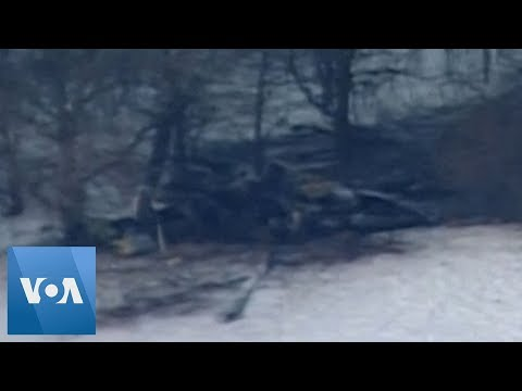Military Helicopter Crashes in Minnesota