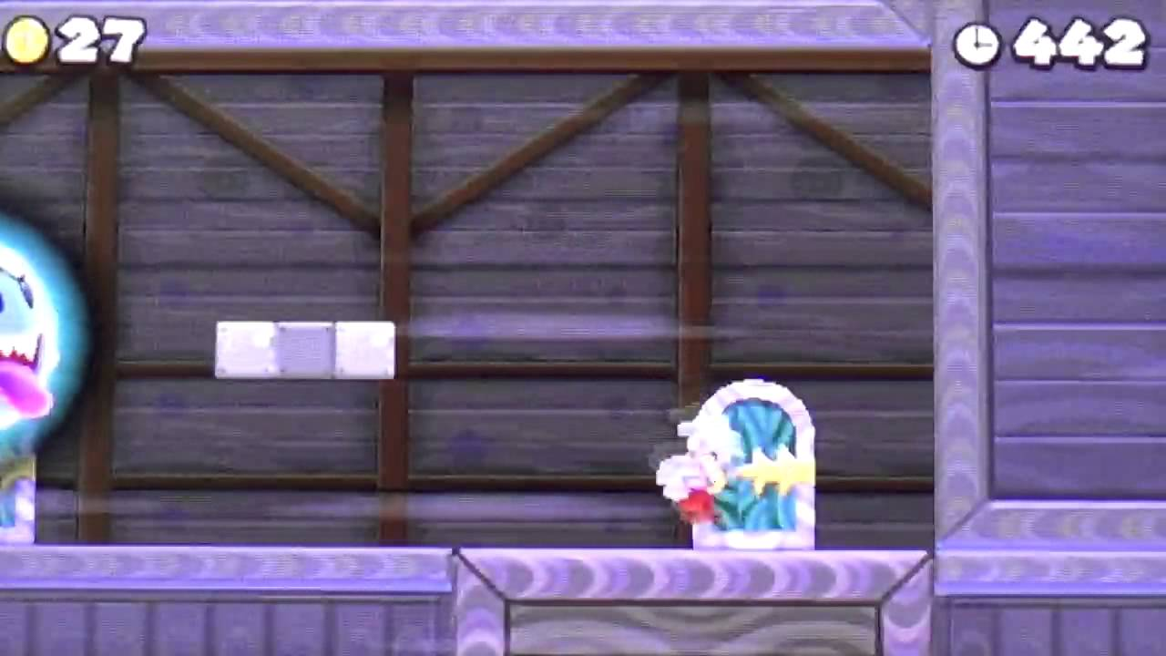 New Super Mario Bros  2 Part 65: World 6-Ghost House (Secret Exit!)