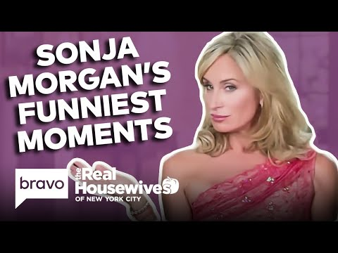 Sonja Morgan's Funniest Real Housewives of New York City Moments   Bravo
