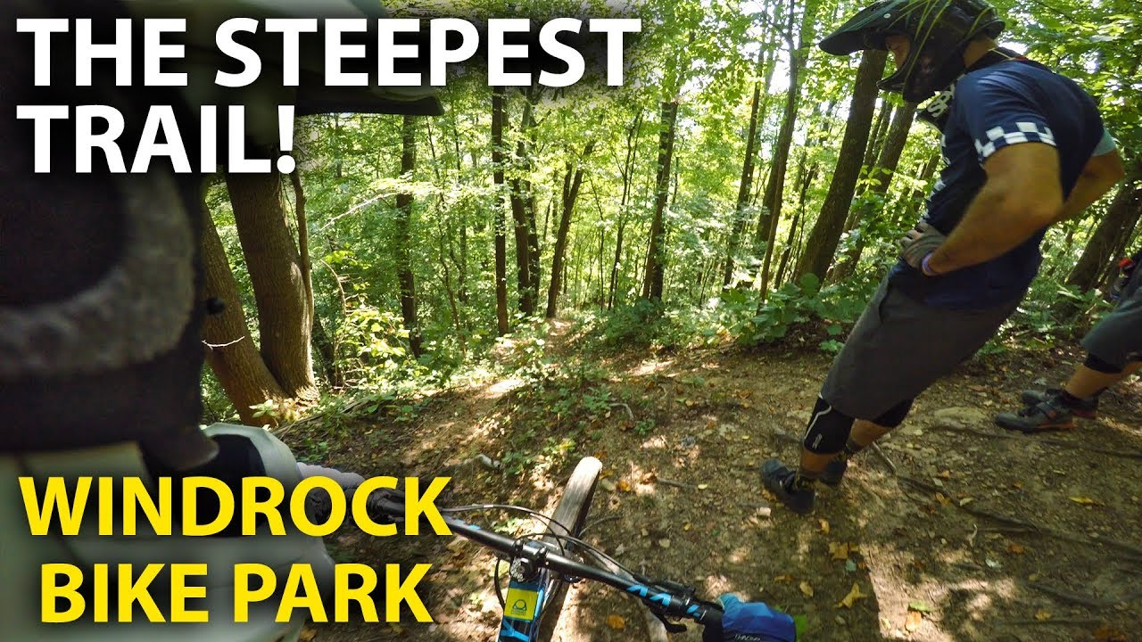 9e1c85fa5de IT'S STEEP, ROCKY, ROUGH and GNARLY! Epic day at Windrock Bike Park ...