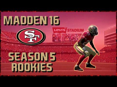 Madden 16 Franchise: San Francisco 49ers | Year 5, Rookie Showcase