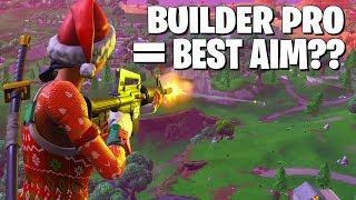 My *NEW* Builder Pro Custom Settings Made My Aim Better?
