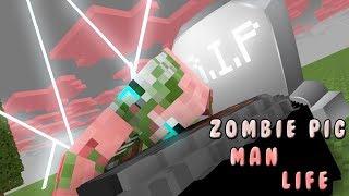 Monster School | Zombie Pigman Life Story | Monster School