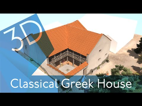 Classical Greek Home – 3D Reconstruction