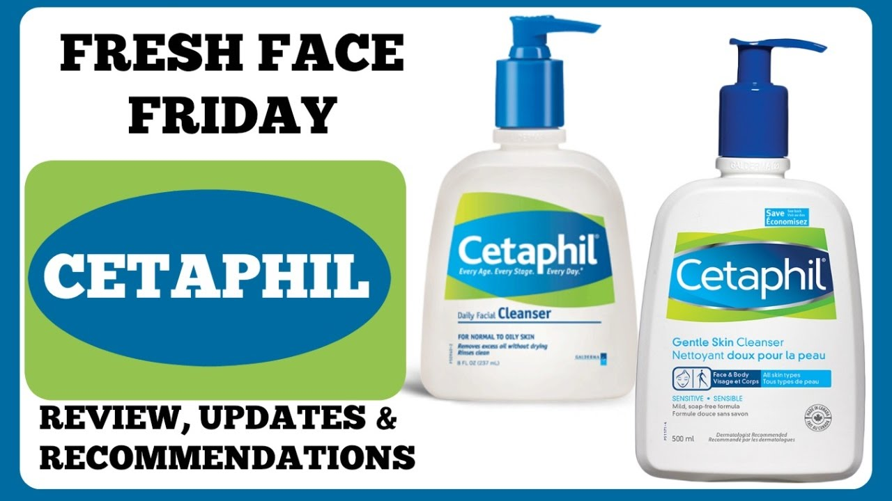Fresh Face Friday Cetaphil Daily Facial Cleanser Normal To Oily Gentle Skin 500 Ml Skincare Only1 Empo