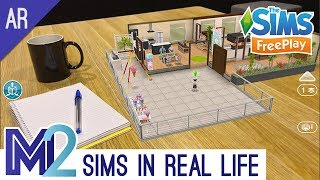 Sims FreePlay AR Augmented Reality Tutorial (Early Access)