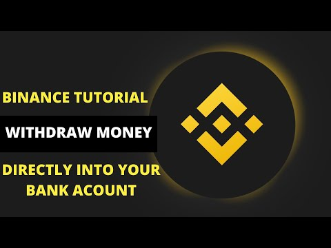 How To Withdraw Money From Binance Directly Into Your Bank Account (Binance Tutorial)