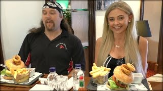 The Double Dare You Burger Challenge Kate Vs Jay