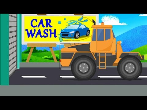 Transformer Car Wash | Car wash for kids