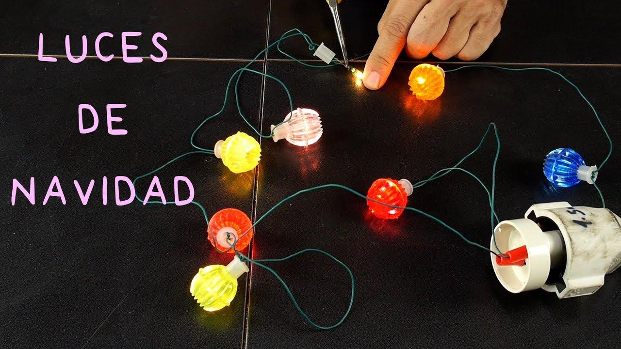 Circuito Electrico En Serie : Luces de navidad. circuito eléctrico en serie y en paralelo youtube
