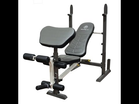 Marcy Folding Standard Weight Bench MWB-20100 detailed ASSEMBLY VIDEO no Manual NEEDED!